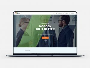 Striped WP Theme